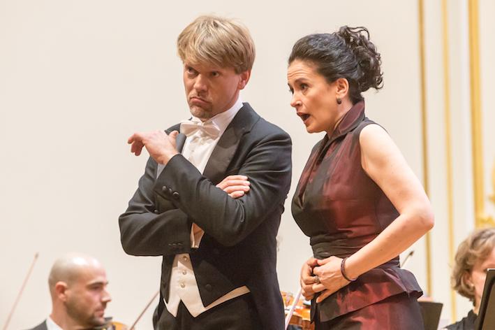 Simona Saturova a Pavol Remenar, Vianocny koncert 9. 12. 2015 © Jakub Jorik