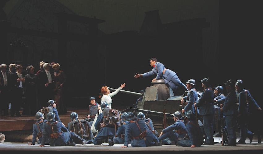 Gaetano Donizetti: La Fille du Régiment Photo: Marty Sohl / Met Opera
