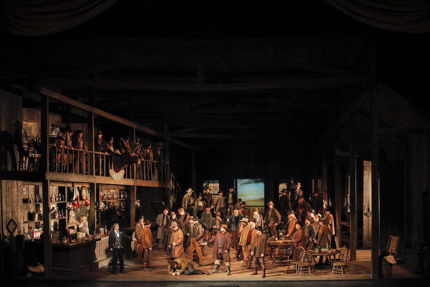 Giacomo Puccini: La Fanciulla del West Photo: Ken Howard / Met Opera